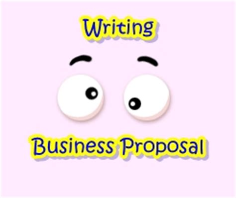 Format of a business plan proposal